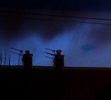 Unidentified Flying Object by Mandy Kerr