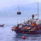 Fishing boats, Hong Kong waters, by johnrf
