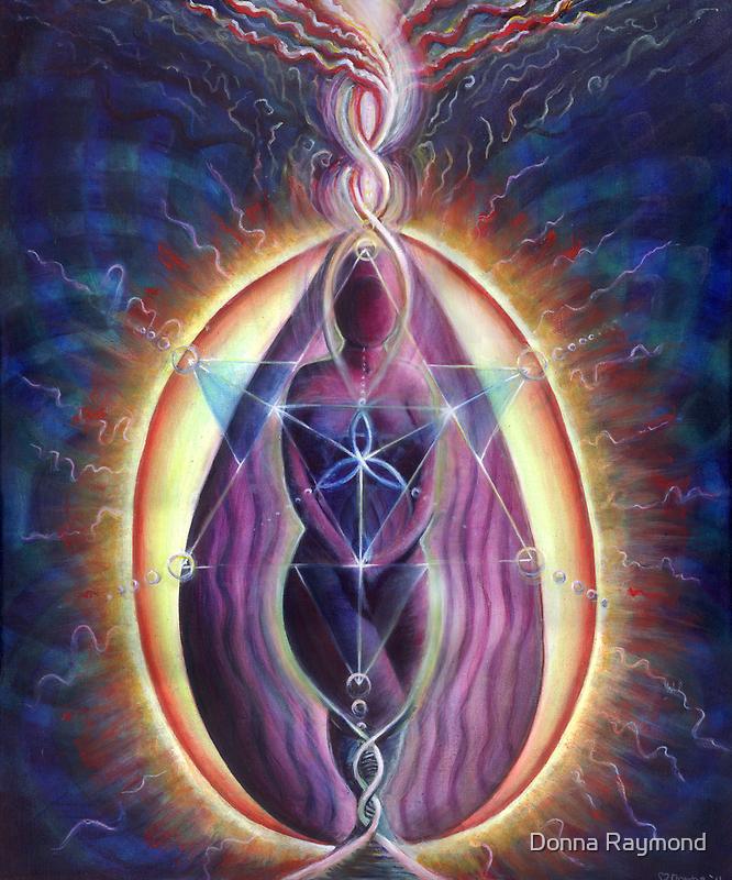 """Divine Feminine""- 2011 by Donna Raymond"
