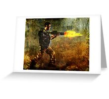 Soldier Greeting Card