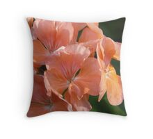 Pelargonium Throw Pillow