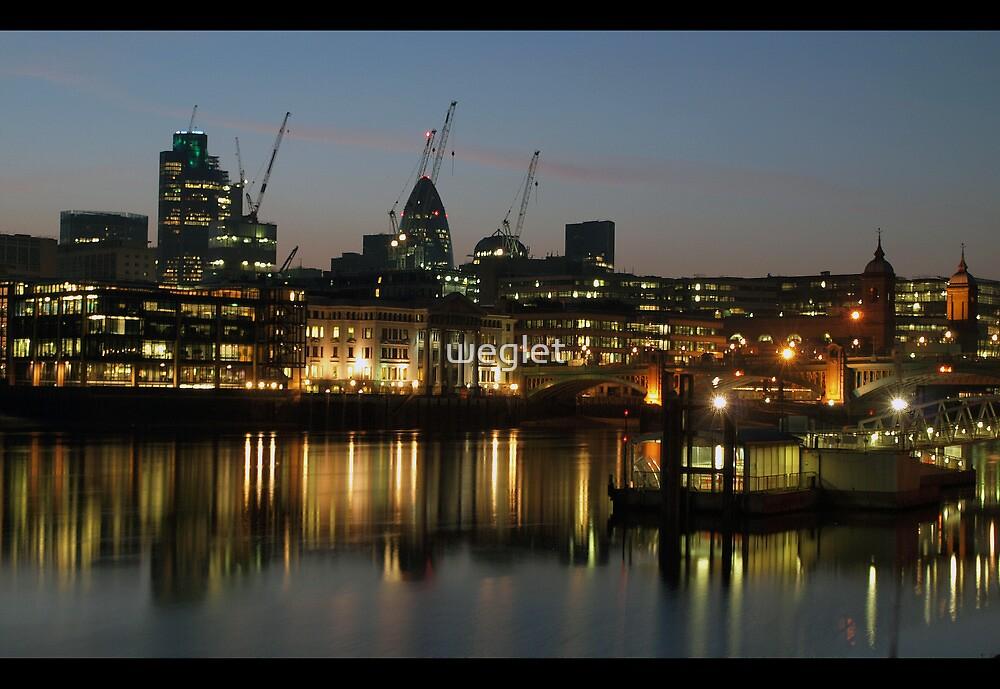 city lights by weglet