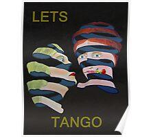 Lesvos Rose Lets Tango Poster
