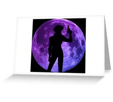 cowboy bebop spike spiegel moon anime manga shirt Greeting Card