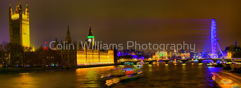 Lambeth Bridge Looking North - HDR by Colin  Williams Photography