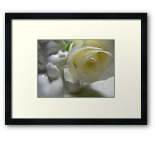 quietly waiting... Framed Print