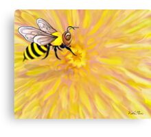 Ode to the Bumble Canvas Print