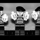 lego pierrots by weglet
