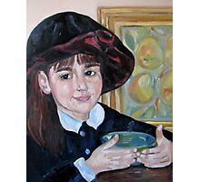 Asya in a hat Photographic Print