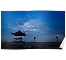 sunrise, sanur beach..bali Poster