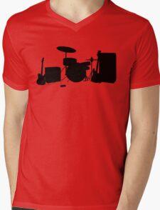 Rock Band Mens V-Neck T-Shirt