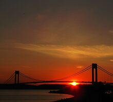 The Verrazano Bridge by Mistyarts