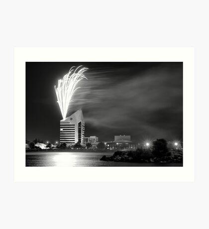 Australia Day Celebrations - Bunbury WA  2011 Art Print
