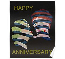 Lesvos Rose Happy Anniversary  Poster