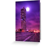 Moon Tower Greeting Card