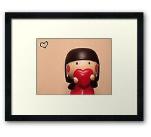momiji doll - lillian Framed Print