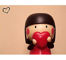 momiji doll - lillian Photographic Print