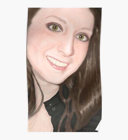 Stephanie Allison - Bubbler Portrait Poster