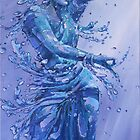 susmitaa.. acrylic on canvas.. 36x18 inches by biswaal
