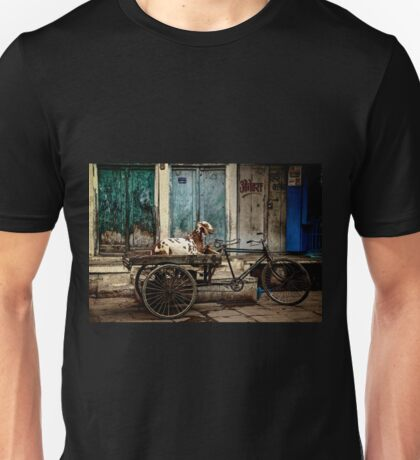 Goat on Wheels Unisex T-Shirt