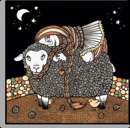 Shonagh's Sheep by Anita Inverarity