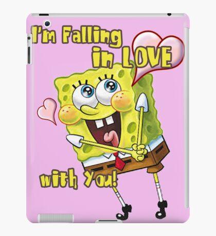 Spongebob inlove iPad Case/Skin