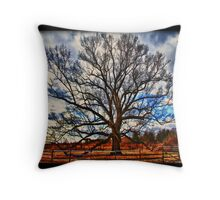 Solo Tree Throw Pillow