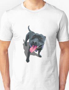 Staffy Lime Unisex T-Shirt