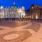 Basilica di San Pietro at Night by Chris Tarling