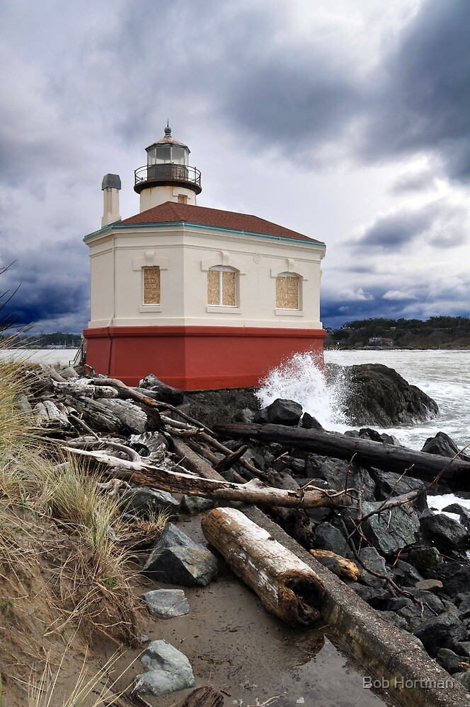 Coquille Lighthouse by Bob Hortman