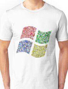 Classic Icons Windows Logo Unisex T-Shirt