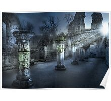 Ruins of Abbey Poster