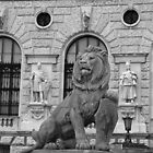 The Lion at The Hofburg. by Lee d'Entremont
