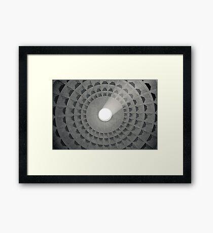 Il Mito di Roma - Pantheon (1 / 15) Framed Print