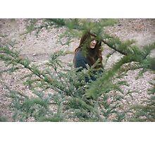 Through the trees. Photographic Print