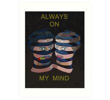 Mykonos Rose Always On My Mind Art Print