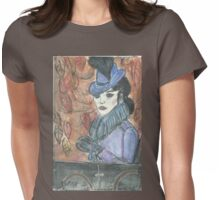 Anna In Autumn Womens Fitted T-Shirt