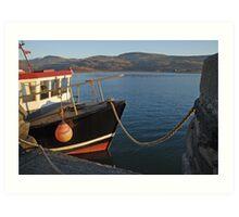 Barmouth Harbour Art Print