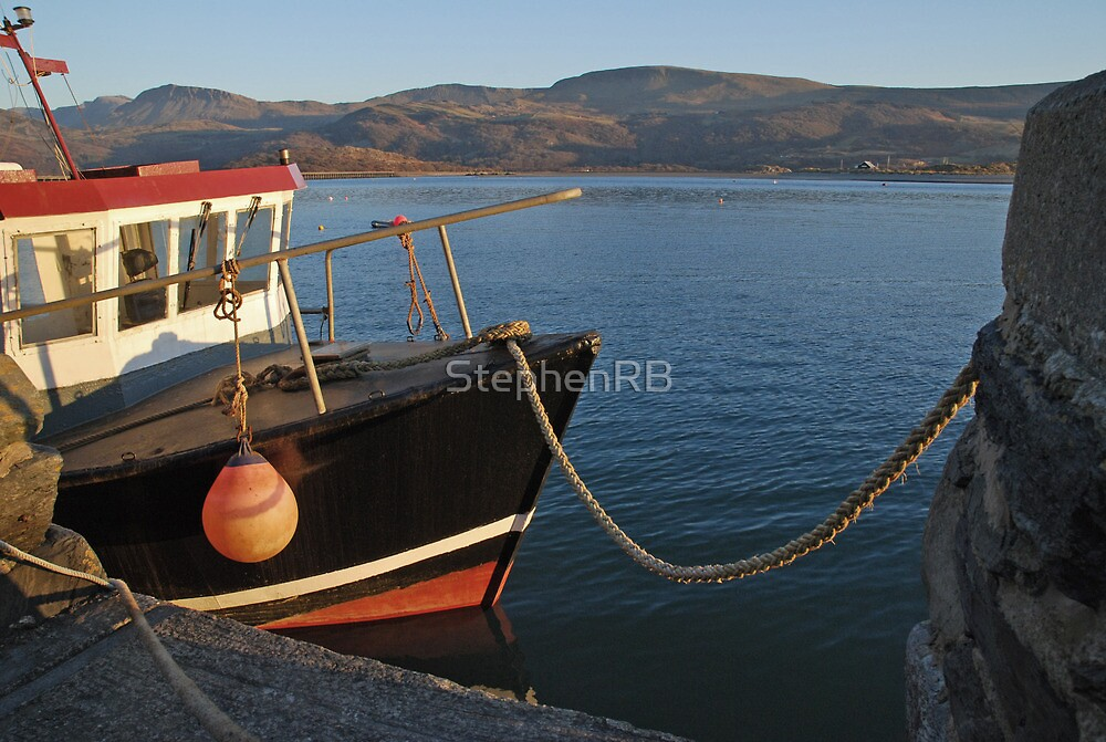 Barmouth Harbour by StephenRB