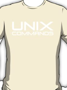 UNIX Commands T-Shirt