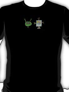 Martian versus Killer Robot T-Shirt