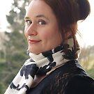 Christine sur le balcon by Alex Cassels