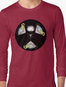 atomic martini mushroom cloud Long Sleeve T-Shirt
