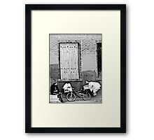Top Of The Line Mobile Home Framed Print