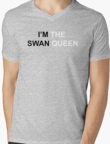 I'M THE SWAN QUEEN Mens V-Neck T-Shirt