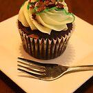 Mint Cupcake by pange