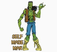 Self Made Man Shirt by monsterfink