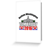 Tom Brady 2016 Greeting Card