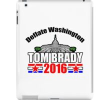 Tom Brady 2016 iPad Case/Skin