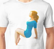 Modern pin up - lady in the sun Unisex T-Shirt